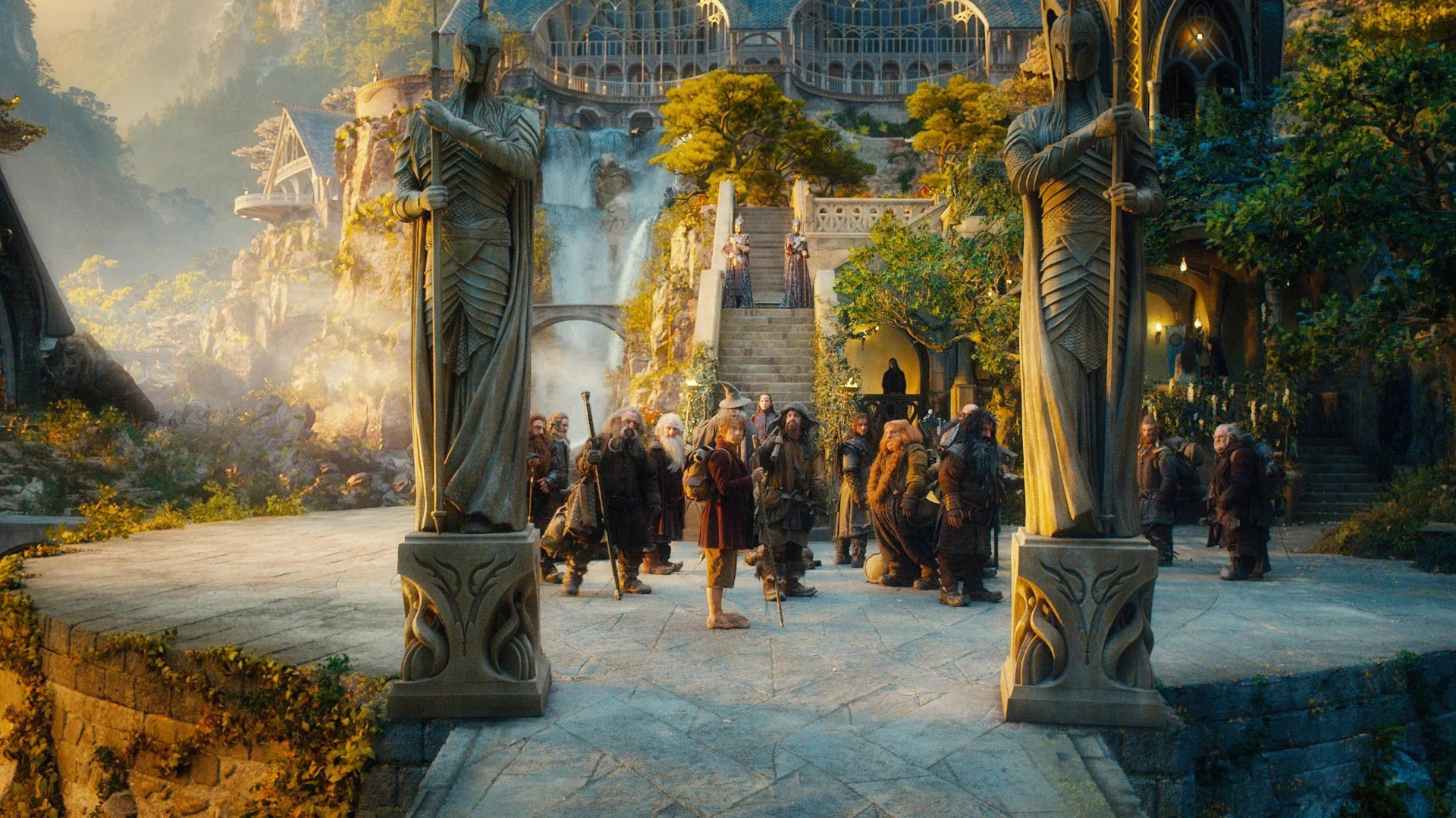 Бильбо у Элронда
