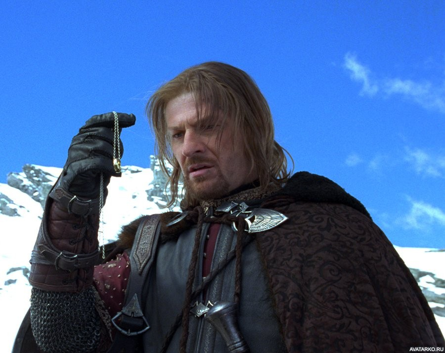 Boromir with Ring
