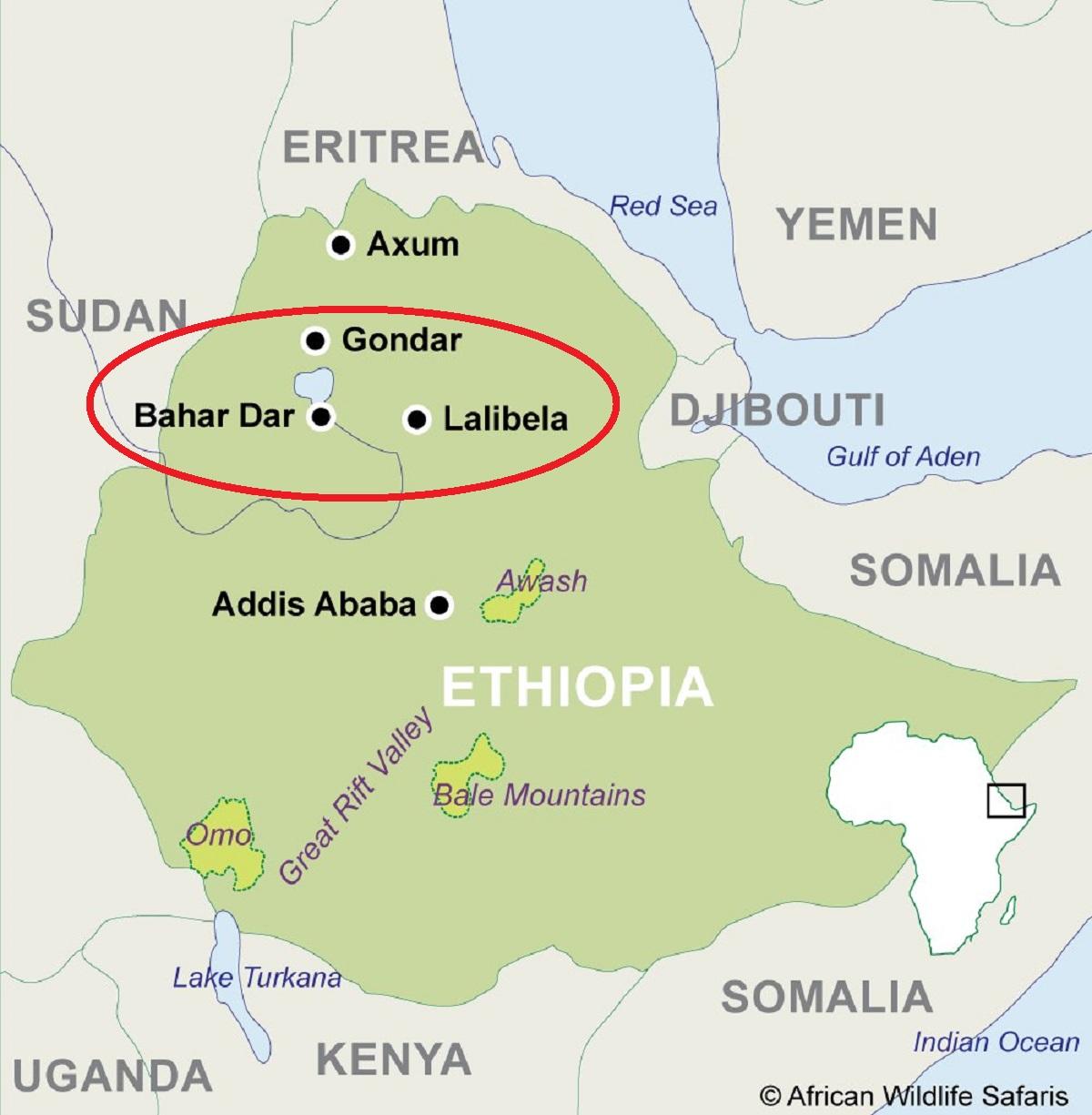 гондор в эфиопии