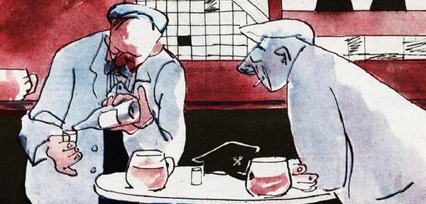 собутыльники в СССР