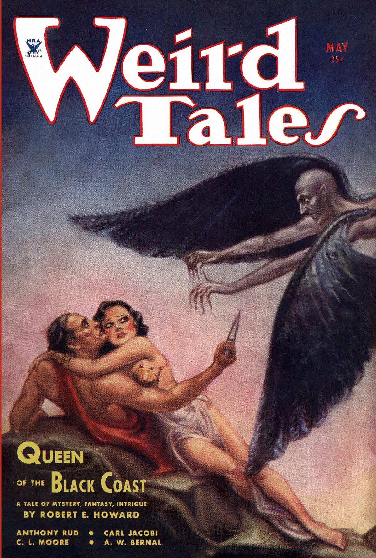Weird Tales 1934 обложка