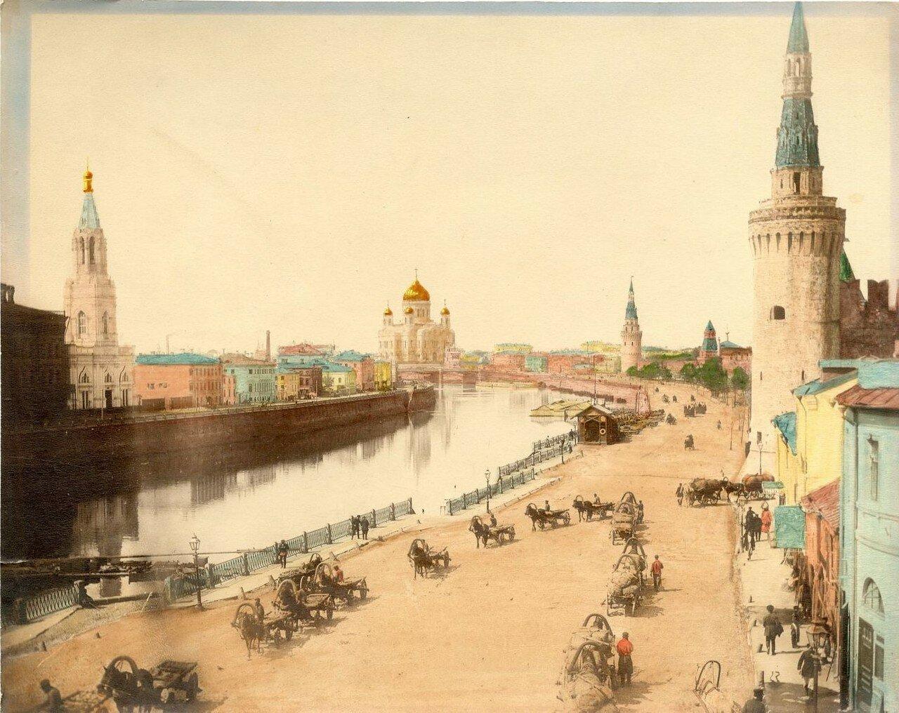 Единственное цветное изображение отретушированной синагоги.