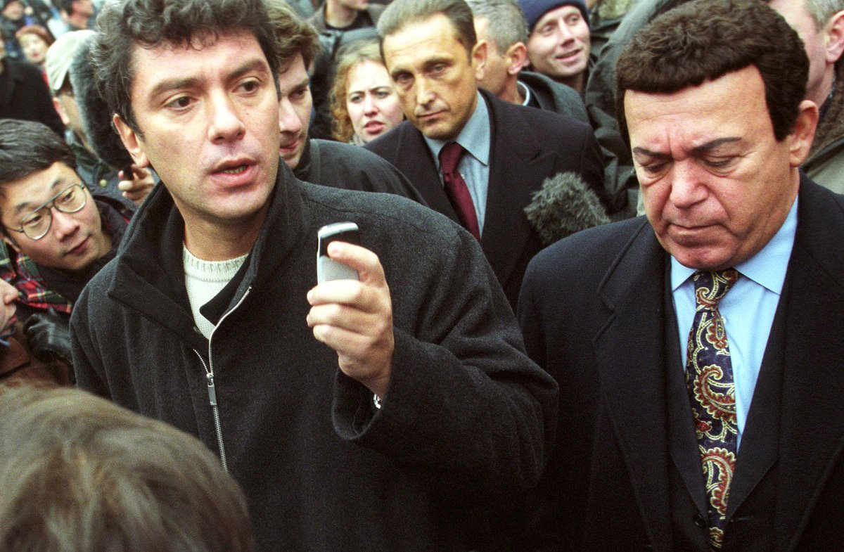 Кобзон и Немцов.