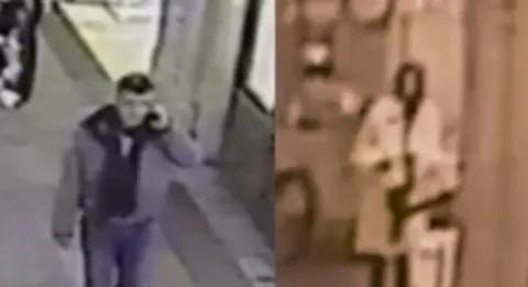 Немцов и Дурицая в ГУМе.