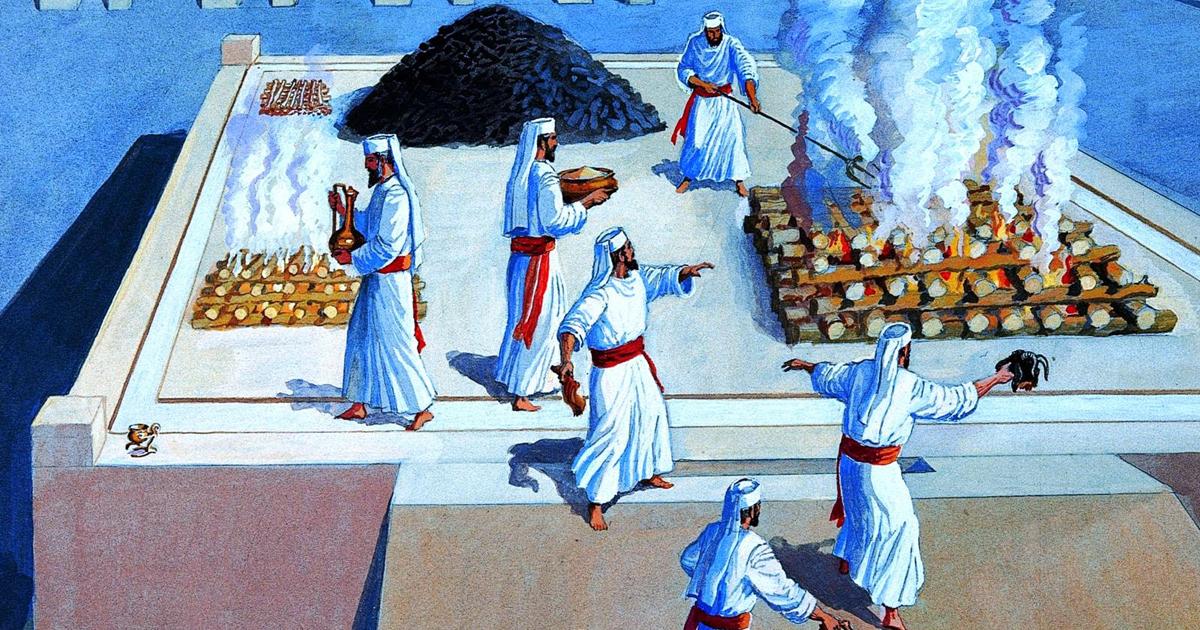 Жертвоприношение во Втором Храме