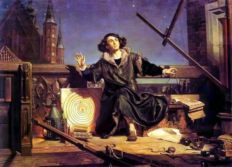 Коперник разговор с богом